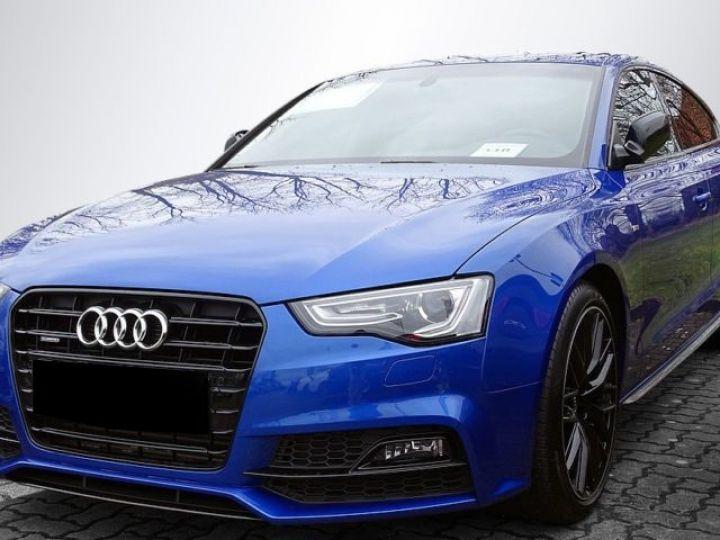 Audi A5 Sportback 3.0 V6 TDI 245CH CLEAN DIESEL S LINE QUATTRO S TRONIC 7 EURO6 BLEU Occasion - 1