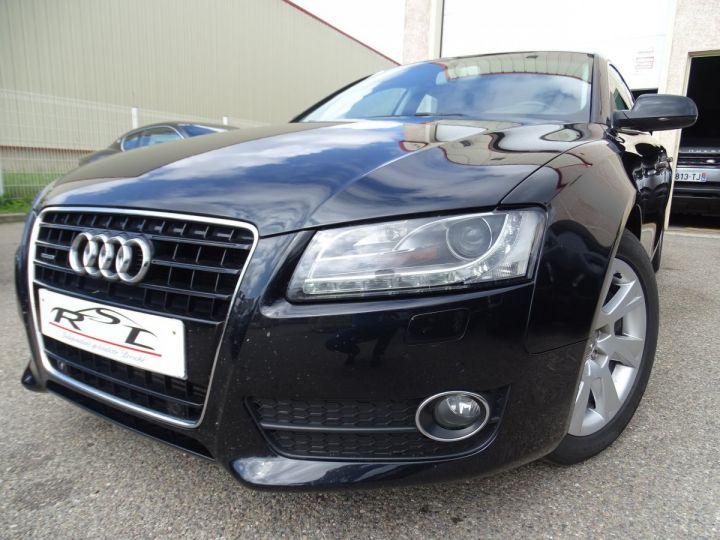 Audi A5 Sportback 3.0L TDI 240Ps V6 Sportback/PDC Bixénon  GPS Bluetooth  Cd .... noir metallisé - 1