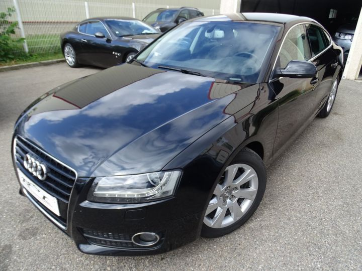 Audi A5 Sportback 3.0L TDI 240Ps V6 Sportback/PDC Bixénon  GPS Bluetooth  Cd .... noir metallisé - 2