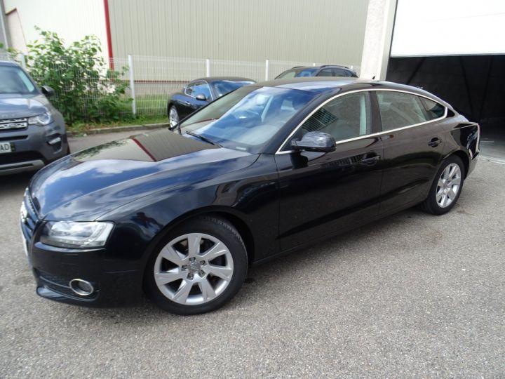Audi A5 Sportback 3.0L TDI 240Ps V6 Sportback/PDC Bixénon  GPS Bluetooth  Cd .... noir metallisé - 3