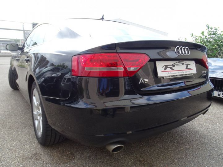 Audi A5 Sportback 3.0L TDI 240Ps V6 Sportback/PDC Bixénon  GPS Bluetooth  Cd .... noir metallisé - 7