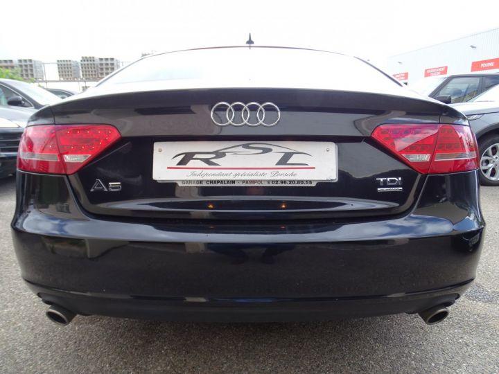 Audi A5 Sportback 3.0L TDI 240Ps V6 Sportback/PDC Bixénon  GPS Bluetooth  Cd .... noir metallisé - 8