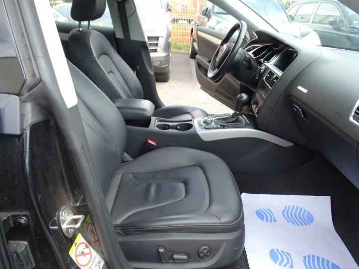Audi A5 Sportback 3.0L TDI 240Ps V6 Sportback/PDC Bixénon  GPS Bluetooth  Cd .... noir metallisé - 11