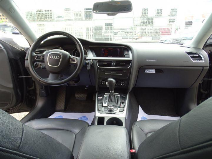 Audi A5 Sportback 3.0L TDI 240Ps V6 Sportback/PDC Bixénon  GPS Bluetooth  Cd .... noir metallisé - 14