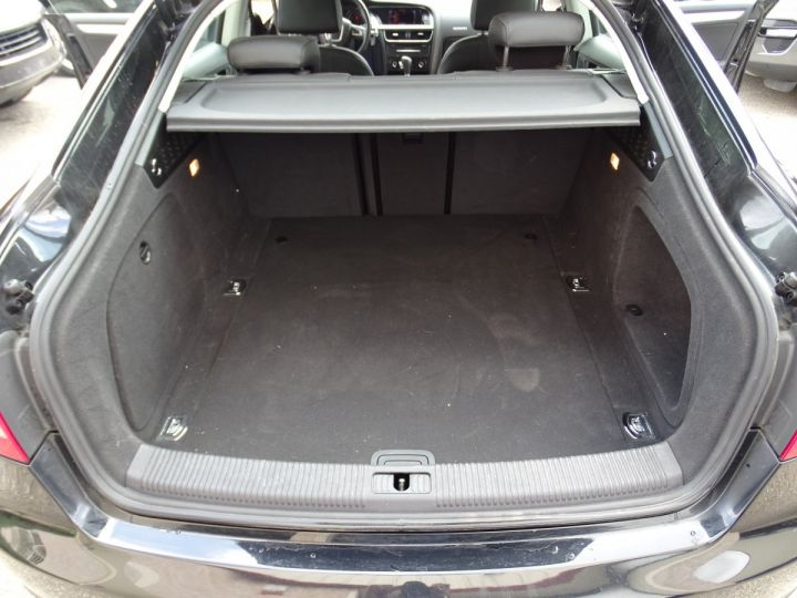 Audi A5 Sportback 3.0L TDI 240Ps V6 Sportback/PDC Bixénon  GPS Bluetooth  Cd .... noir metallisé - 19