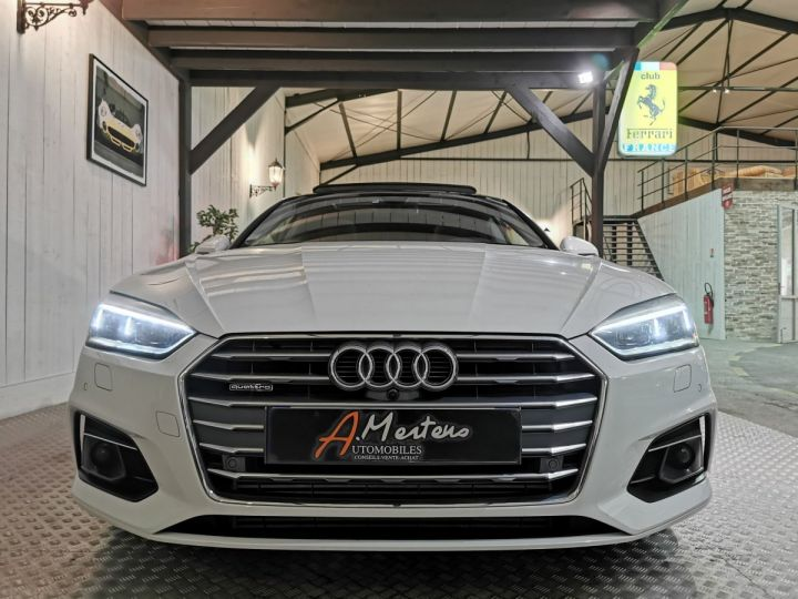 Audi A5 Sportback 50 TDI 286 CV DESIGN LUXE QUATTRO BVA Blanc - 3