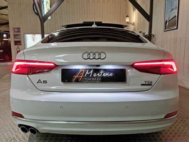 Audi A5 Sportback 50 TDI 286 CV DESIGN LUXE QUATTRO BVA Blanc - 4