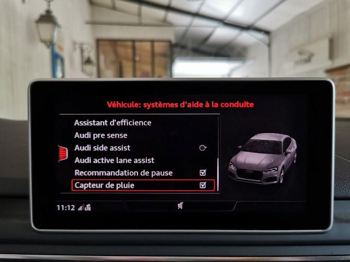 Audi A5 Sportback 50 TDI 286 CV DESIGN LUXE QUATTRO BVA Blanc - 15