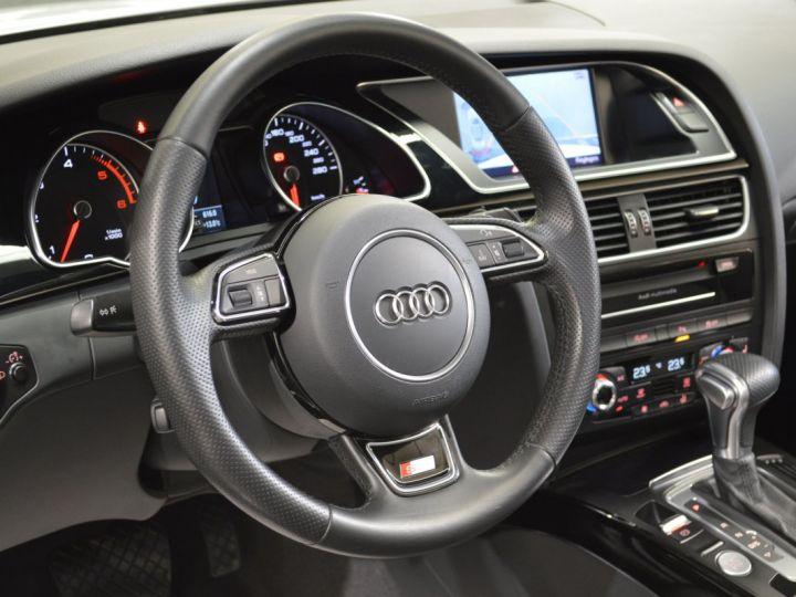Audi A5 Superbe cabriolet 3.0 tdi v6 245ch quattro stronic sline plus 1ere main 20 camera attelage BLANC GLACIER - 16