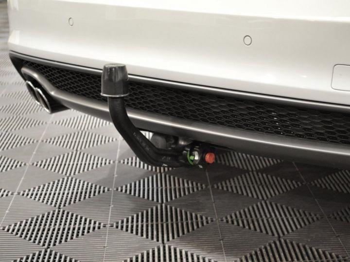 Audi A5 Superbe cabriolet 3.0 tdi v6 245ch quattro stronic sline plus 1ere main 20 camera attelage BLANC GLACIER - 19