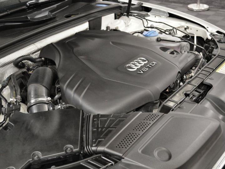Audi A5 Superbe cabriolet 3.0 tdi v6 245ch quattro stronic sline plus 1ere main 20 camera attelage BLANC GLACIER - 20