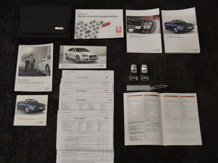 Audi A5 Superbe cabriolet 3.0 tdi v6 245ch quattro stronic sline plus 1ere main 20 camera attelage BLANC GLACIER - 21