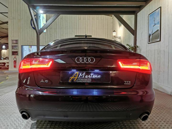 Audi A6 3.0 TDI 204 CV SLINE QUATTRO BVA Noir - 4