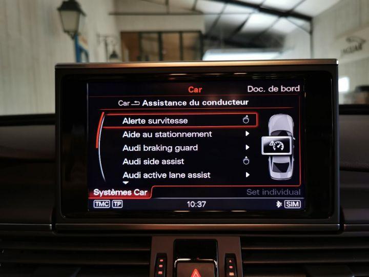 Audi A6 3.0 TDI 204 CV SLINE QUATTRO BVA Noir - 11