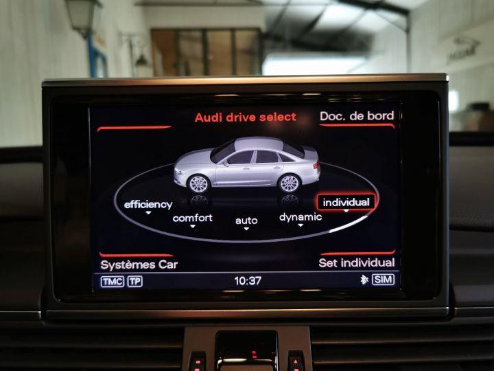 Audi A6 3.0 TDI 204 CV SLINE QUATTRO BVA Noir - 12