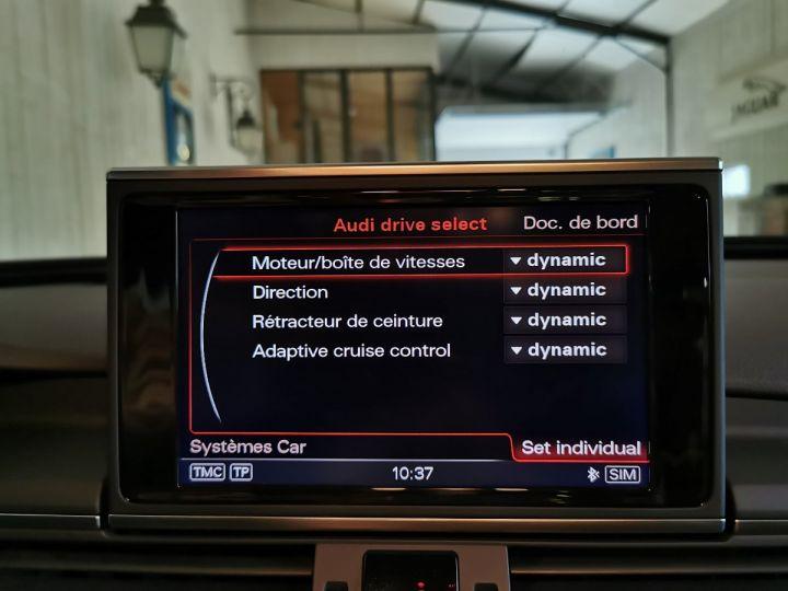 Audi A6 3.0 TDI 204 CV SLINE QUATTRO BVA Noir - 13