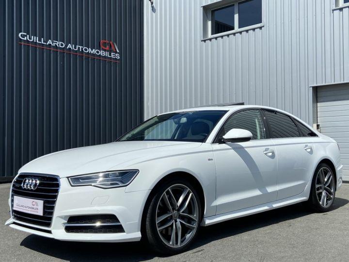 Audi A6 3.0 V6 BITDI 320ch QUATTRO AVUS TIPTRONIC 8 Blanc - 1