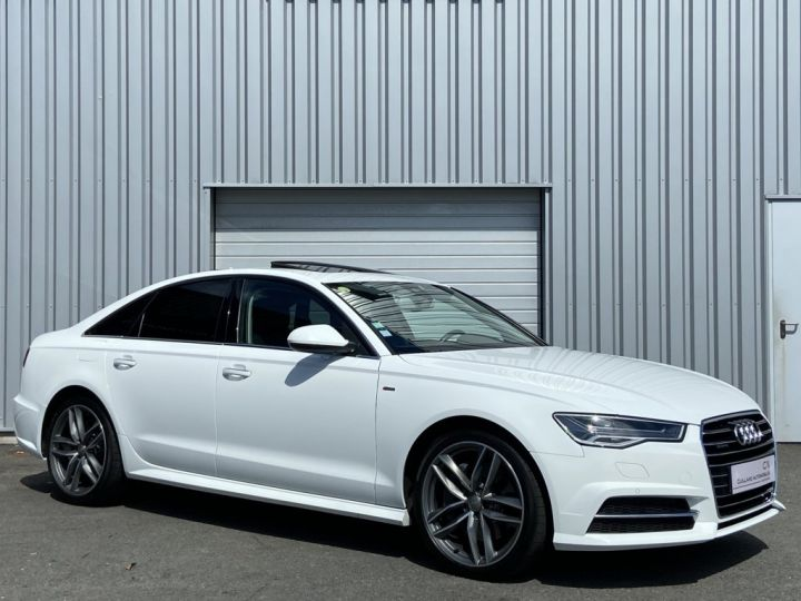 Audi A6 3.0 V6 BITDI 320ch QUATTRO AVUS TIPTRONIC 8 Blanc - 3