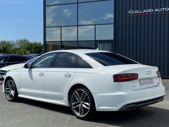 Audi A6 3.0 V6 BITDI 320ch QUATTRO AVUS TIPTRONIC 8 Blanc - 5