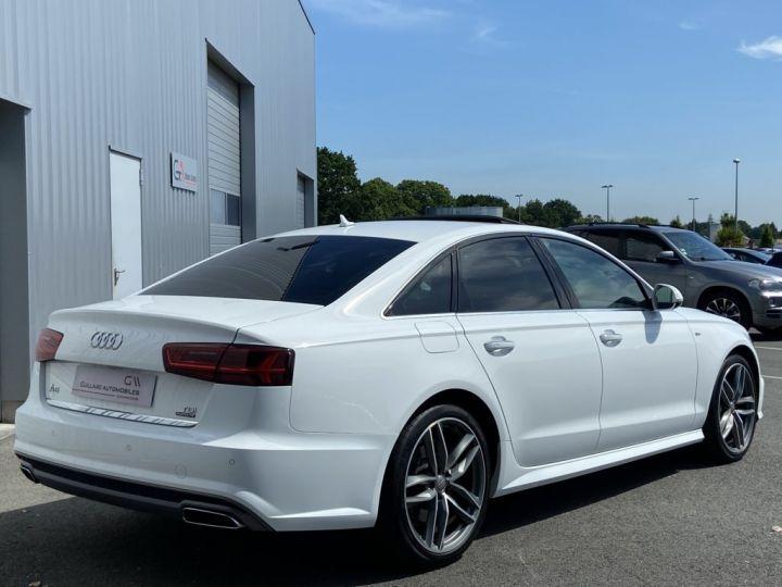 Audi A6 3.0 V6 BITDI 320ch QUATTRO AVUS TIPTRONIC 8 Blanc - 6