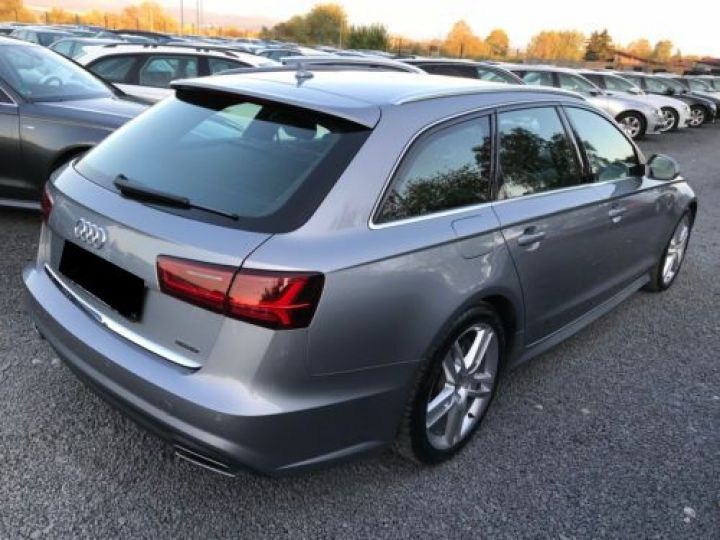 Audi A6 3.0 V6 TDI 272CH S LINE QUATTRO S TRONIC 7 GRIS Occasion - 3