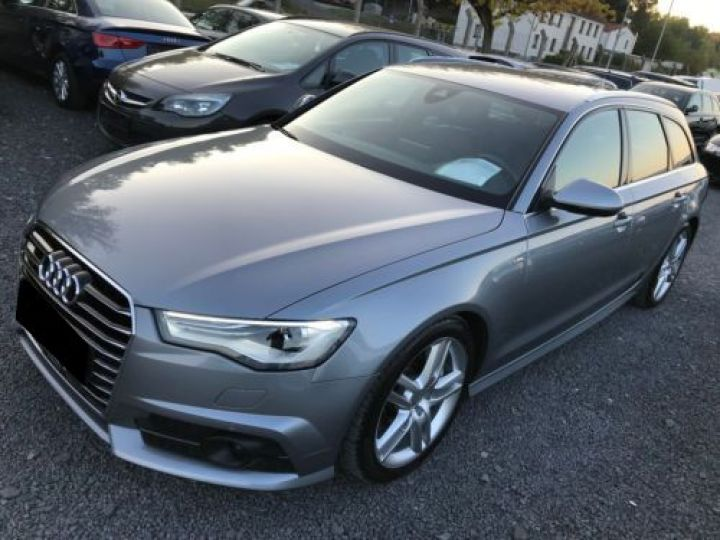 Audi A6 3.0 V6 TDI 272CH S LINE QUATTRO S TRONIC 7 GRIS Occasion - 4