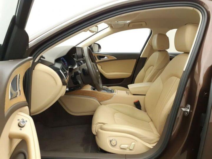 Audi A6 3L TDi Quattro 313 cv  Brun - 3