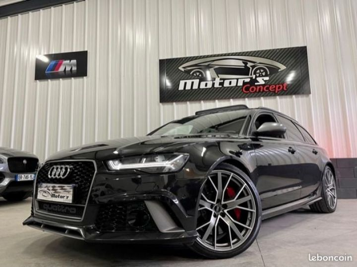 Audi A6 A6/s6 RS6 Performance PHASE 2 4.0 TFSI 605 CV 1ere MAIN CARNET COMPLET  - 2