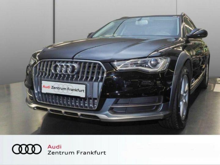 Audi A6 Allroad noire - 1