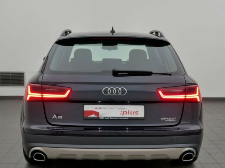 Audi A6 Allroad 3.0 TDI,1ere Main, 70933Kms Bleu Peinture métallisée - 4