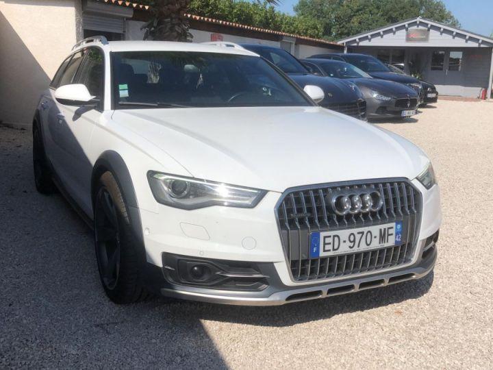 Audi A6 Allroad 3.0 TDI 272ch / GPS / CAMERA / HAYON ELECTRIQUE / ATTELAGE / GARANTIE / FRANCAISE Blanc - 1