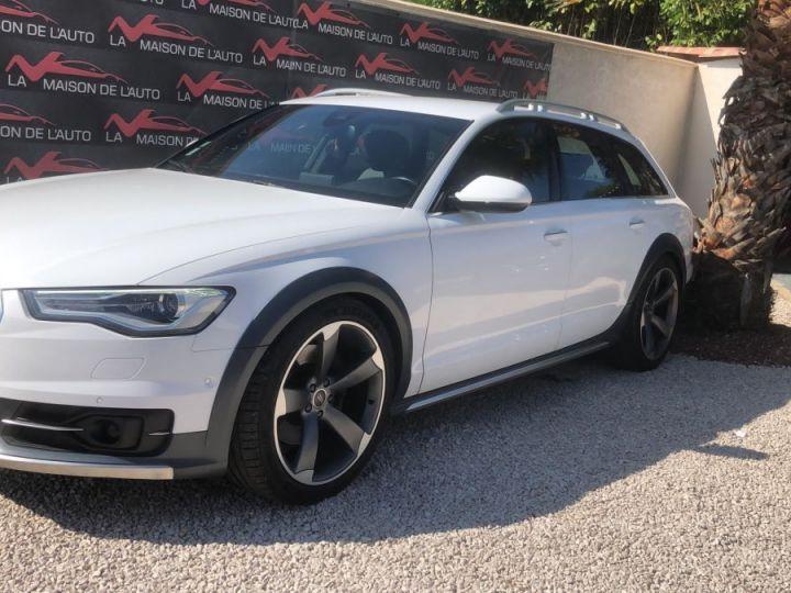 Audi A6 Allroad 3.0 TDI 272ch / GPS / CAMERA / HAYON ELECTRIQUE / ATTELAGE / GARANTIE / FRANCAISE Blanc - 2