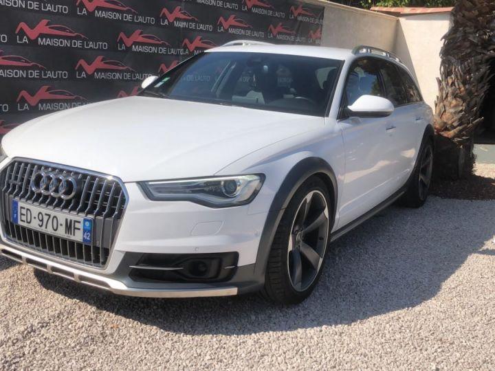 Audi A6 Allroad 3.0 TDI 272ch / GPS / CAMERA / HAYON ELECTRIQUE / ATTELAGE / GARANTIE / FRANCAISE Blanc - 3
