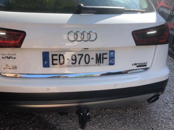Audi A6 Allroad 3.0 TDI 272ch / GPS / CAMERA / HAYON ELECTRIQUE / ATTELAGE / GARANTIE / FRANCAISE Blanc - 4