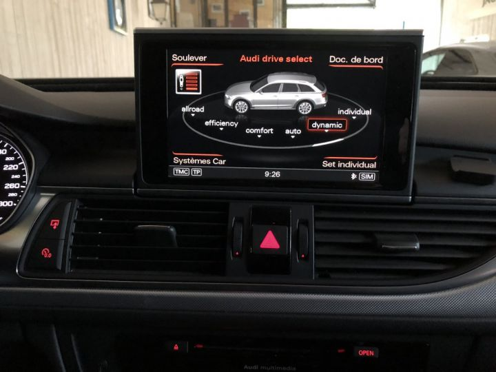 Audi A6 Allroad 3.0 TDI 313 CV AVUS QUATTRO BVA Noir - 14