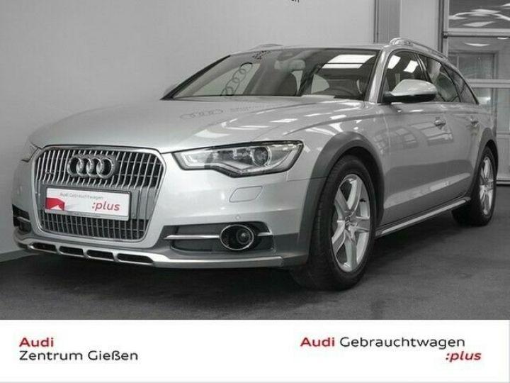 Audi A6 Allroad QUATTRO gris - 1