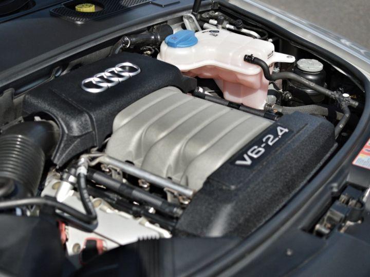 Audi A6 Audi a6 III berline 2.4 v6 177ch ambition luxe multitronic historique complet audi GRIS ARGENT - 20