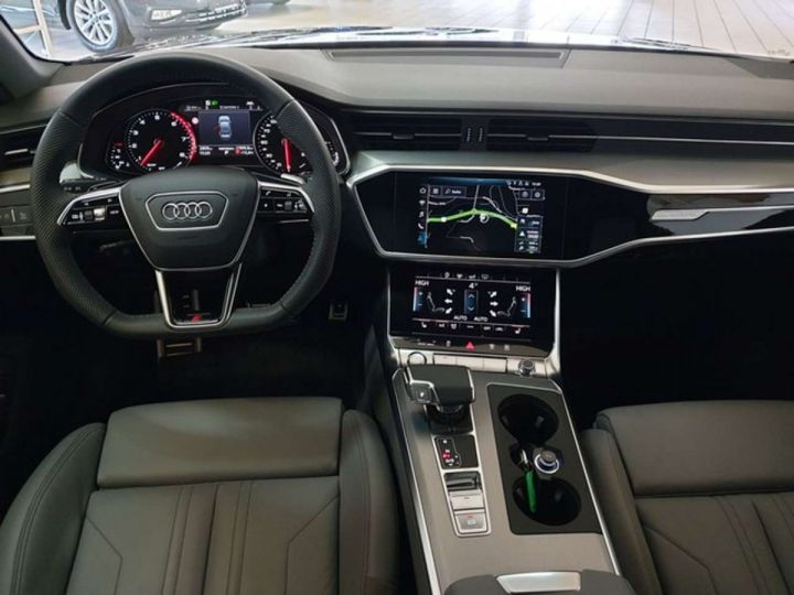 Audi A6 Audi A6 V6 3.0  55 TFSI 340ch S line quattro S tronic 7/ Full Options/ Garantie 12 Mois  Noir Métal - 3