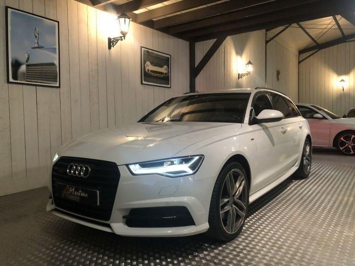 Audi A6 Avant 3.0 BITDI 320 AMBITION LUXE QUATTRO Blanc - 2