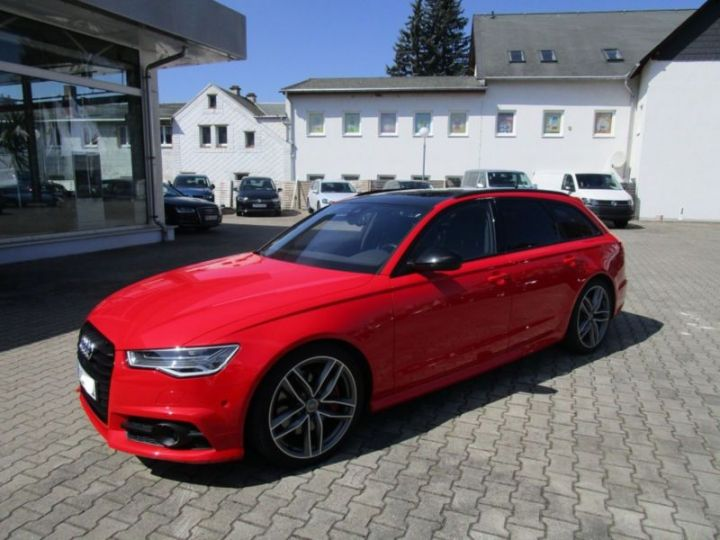 Audi A6 Avant 3.0 V6 BITDI 326CH COMPETITION QUATTRO TIPTRONIC ROUGE Occasion - 1