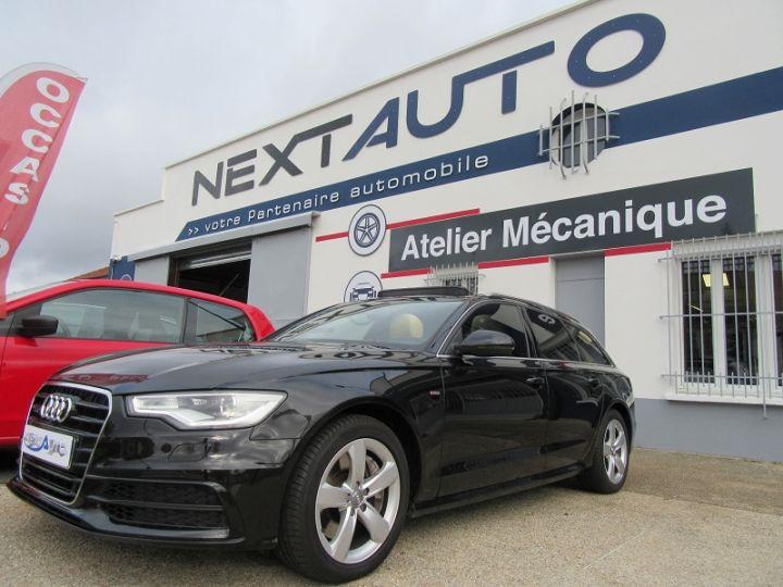 Audi A6 Avant 3.0 V6 TFSI 310CH AVUS QUATTRO S TRONIC 7 Noir Occasion - 1