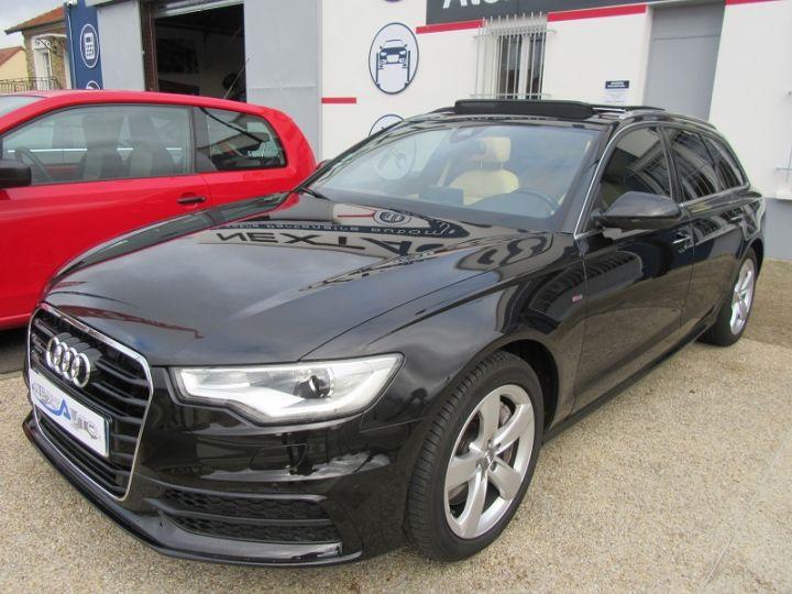 Audi A6 Avant 3.0 V6 TFSI 310CH AVUS QUATTRO S TRONIC 7 Noir Occasion - 19