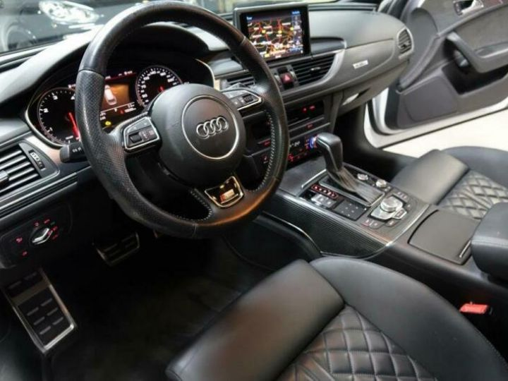 Audi A6 Avant 3.0L BI TDI PACK COMPETION BLANC - 7
