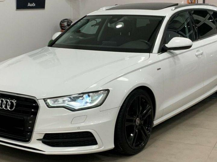 Audi A6 Avant 3.0l BI TDI Quattro 2X S-line  blanc  - 1