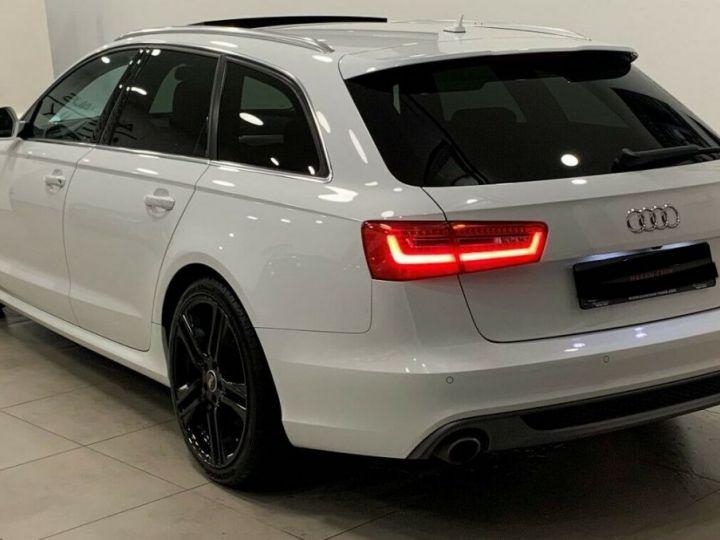 Audi A6 Avant 3.0l BI TDI Quattro 2X S-line  blanc  - 2