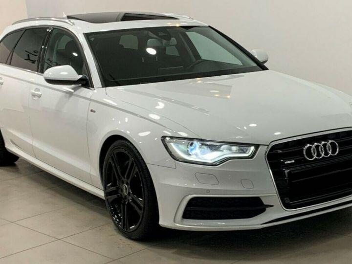 Audi A6 Avant 3.0l BI TDI Quattro 2X S-line  blanc  - 4