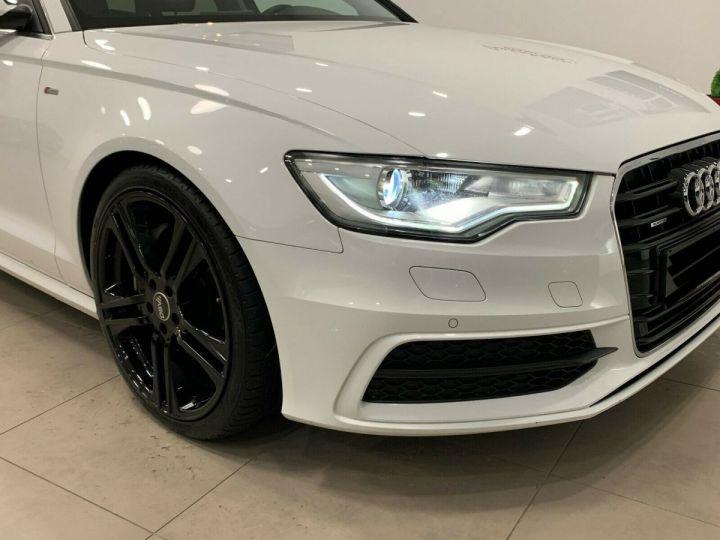 Audi A6 Avant 3.0l BI TDI Quattro 2X S-line  blanc  - 7