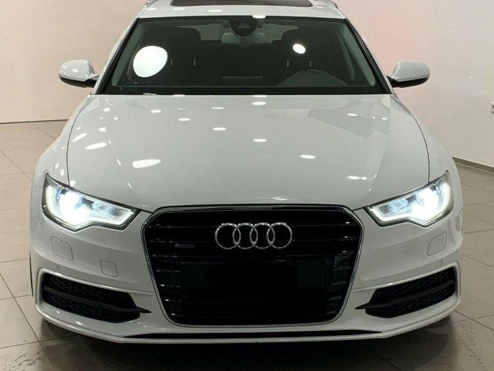 Audi A6 Avant 3.0l BI TDI Quattro 2X S-line  blanc  - 9