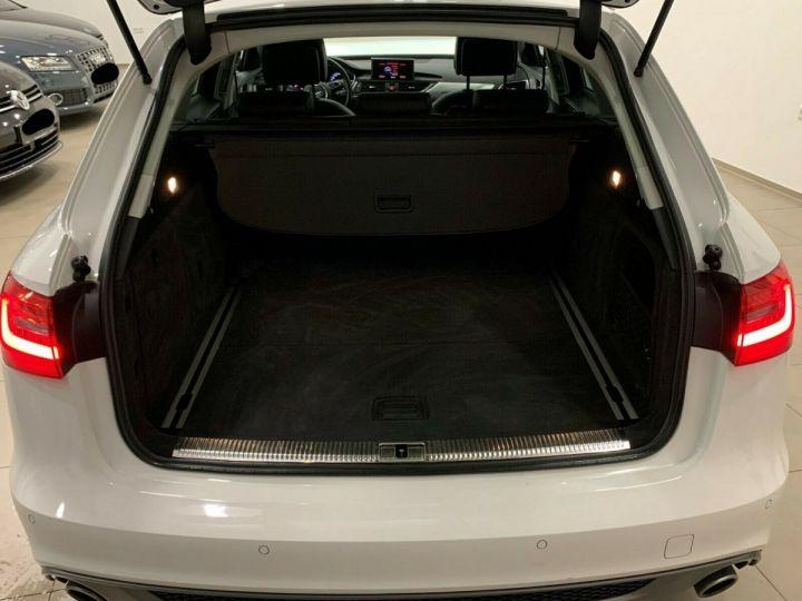 Audi A6 Avant 3.0l BI TDI Quattro 2X S-line  blanc  - 12
