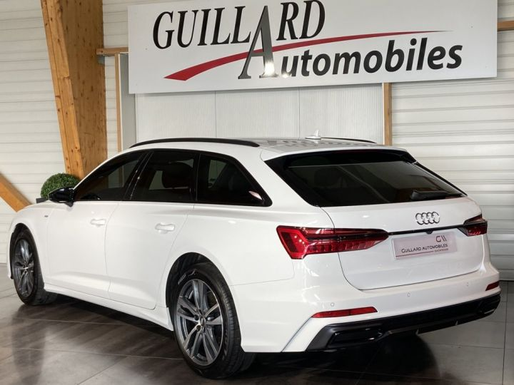 Audi A6 Avant 40 TDI 204ch S-LINE S-TRONIC Blanc - 6